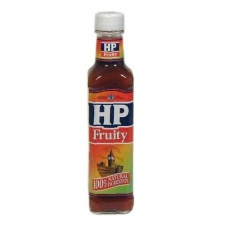 HP Sauce: Fruity (255 g glass bottle)