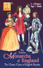 Monarchs of England card game