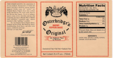 Outerbridges of Bermuda: Sherry Peppers Sauce (5 oz bottle)