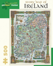 Puzzle - Story Map of Ireland