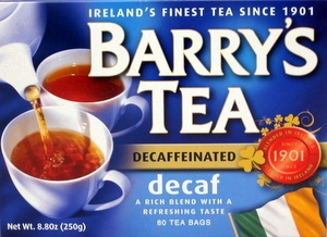 Barry's DECAF (80 bags)